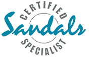 sandals Certified logo - Travel Professionals at Sea