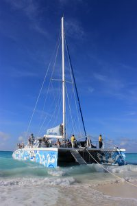 "Beaches Resort, Turks & Caicos, the Catamaran ""Kitty Kat"""