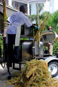 Sandals LaSource, Grenada, Fresh Cane Juise