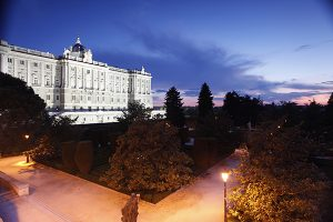 Madrid. Palacio Real - Jardines de Sabatini
