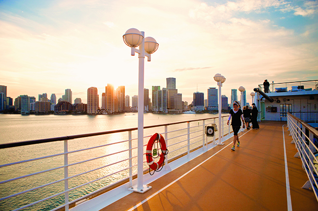 An Azamara Cruise departing from Miami
