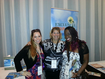 Elisabeth & Joanita with Ann Andreas, BDM w/ EGT