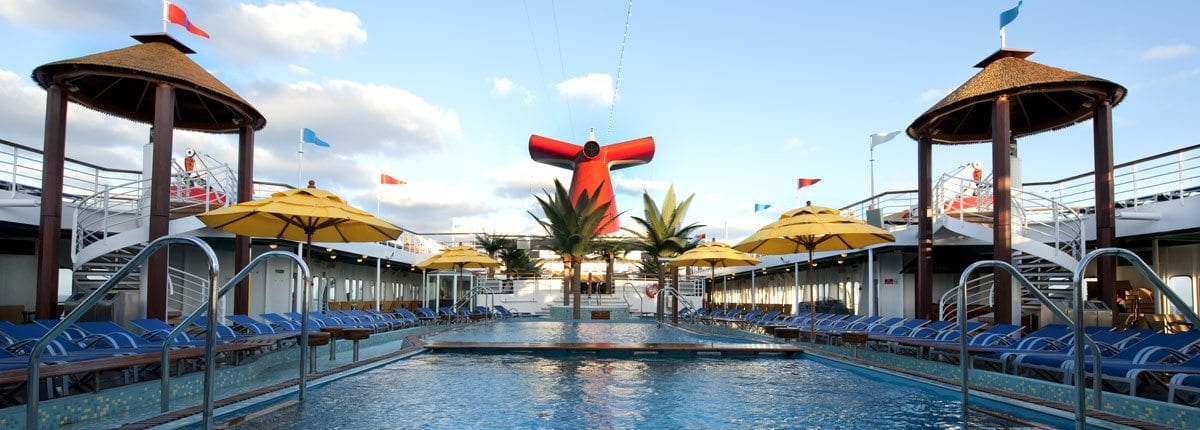 April partner of the month carnival cruise line for River cruise ships with swimming pool