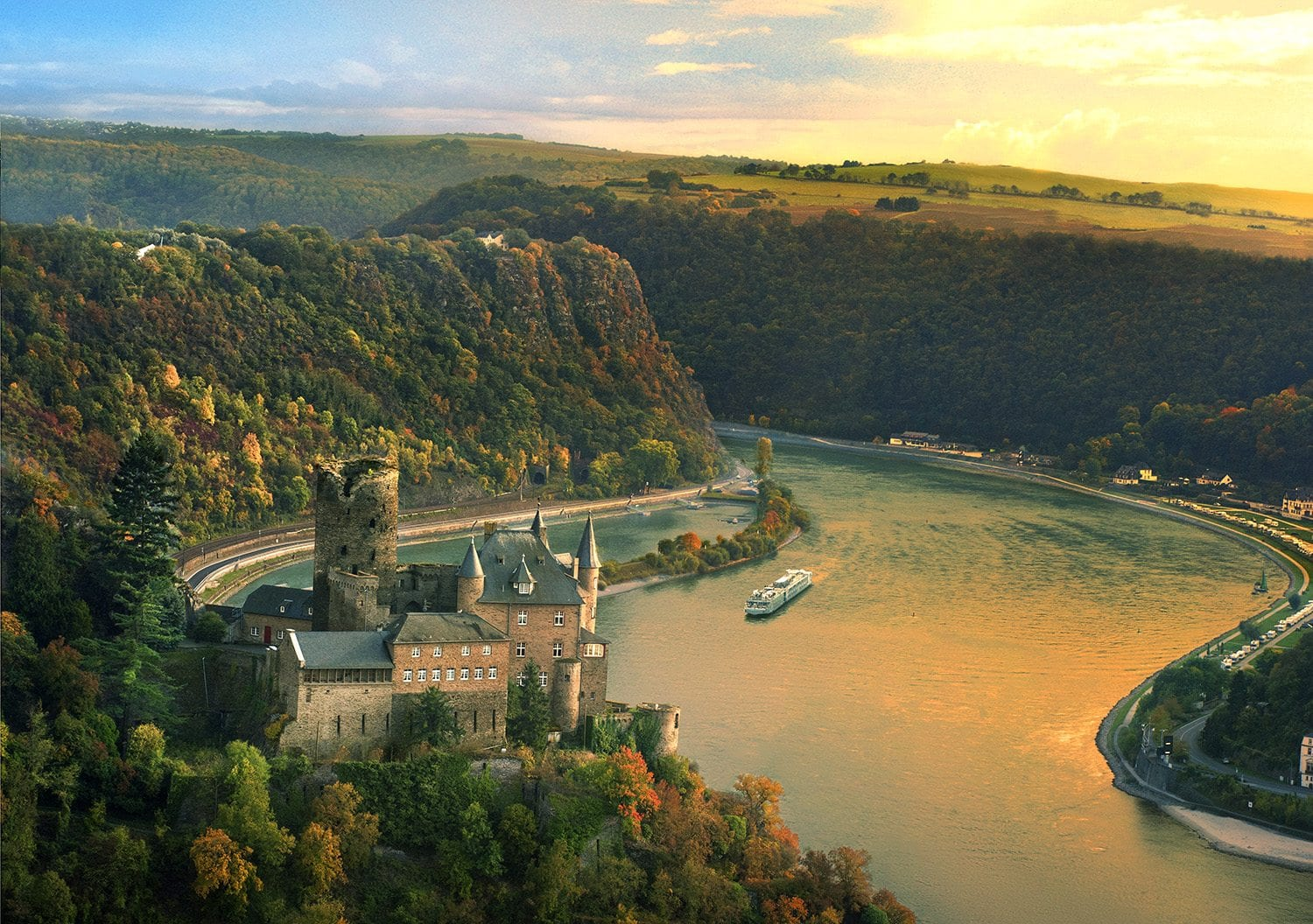 Viking®named #1 River Cruise Line-Travel Planners International.