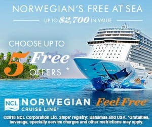 NCL 5 Free Offers