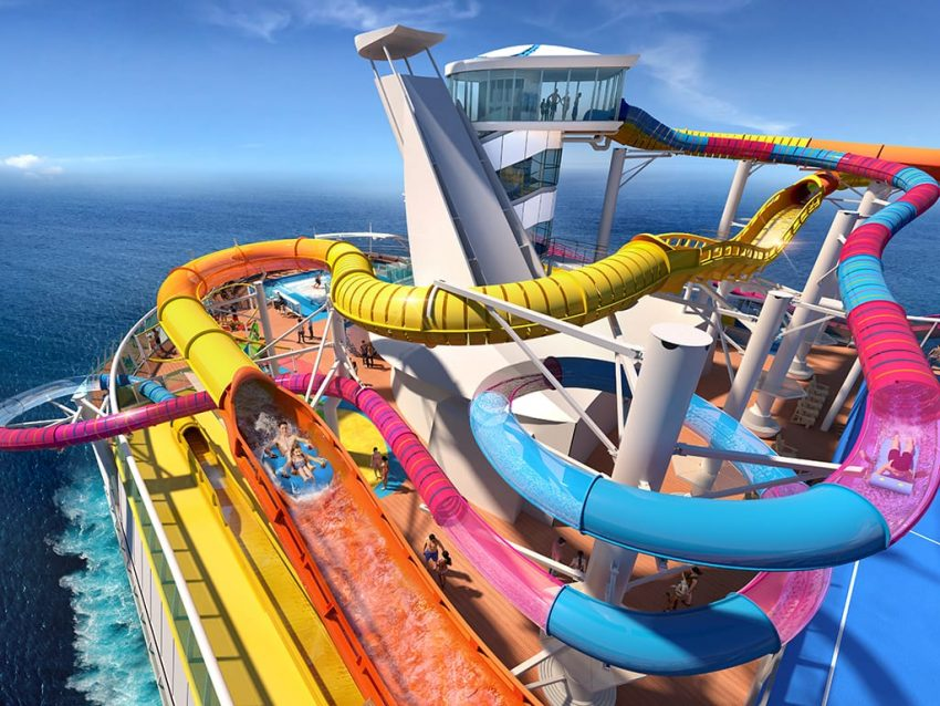 Water Slides On RCCL